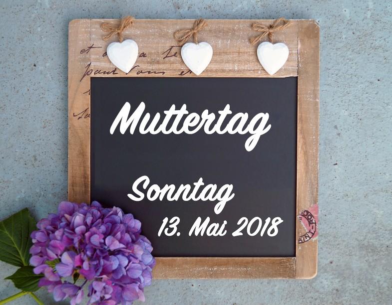Helden reisen – Gäste speisen: Muttertag 13. Mai 2018